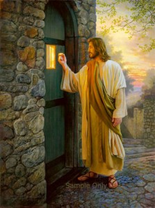 """What if Jesus disguised himself and knocked at your door?"""